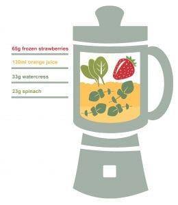 Watercress-Orange-and-Strawberry-260x300 Watercress Orange and Strawberry