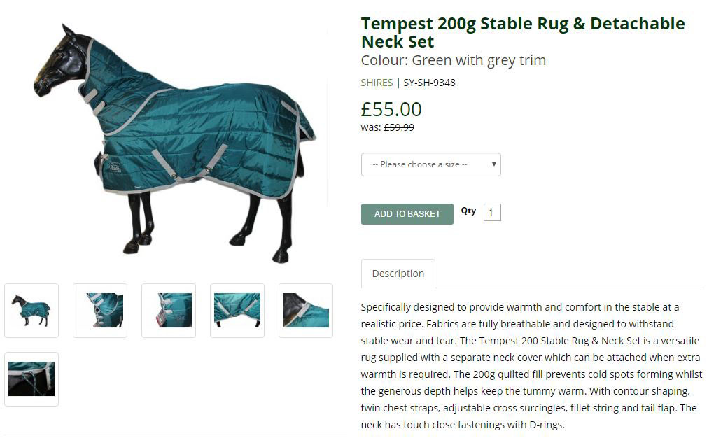 Discount Horse Rugs – Branding Project