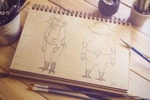 owl-sketch-300x200 owl sketch